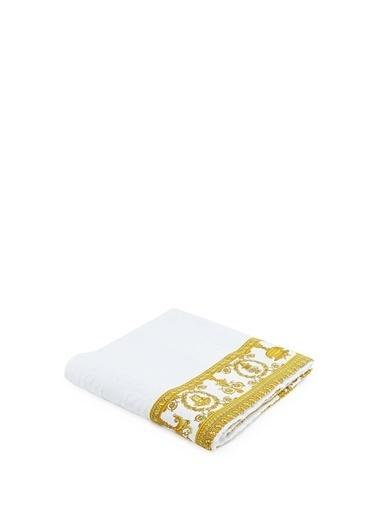 Versace Havlu Beyaz